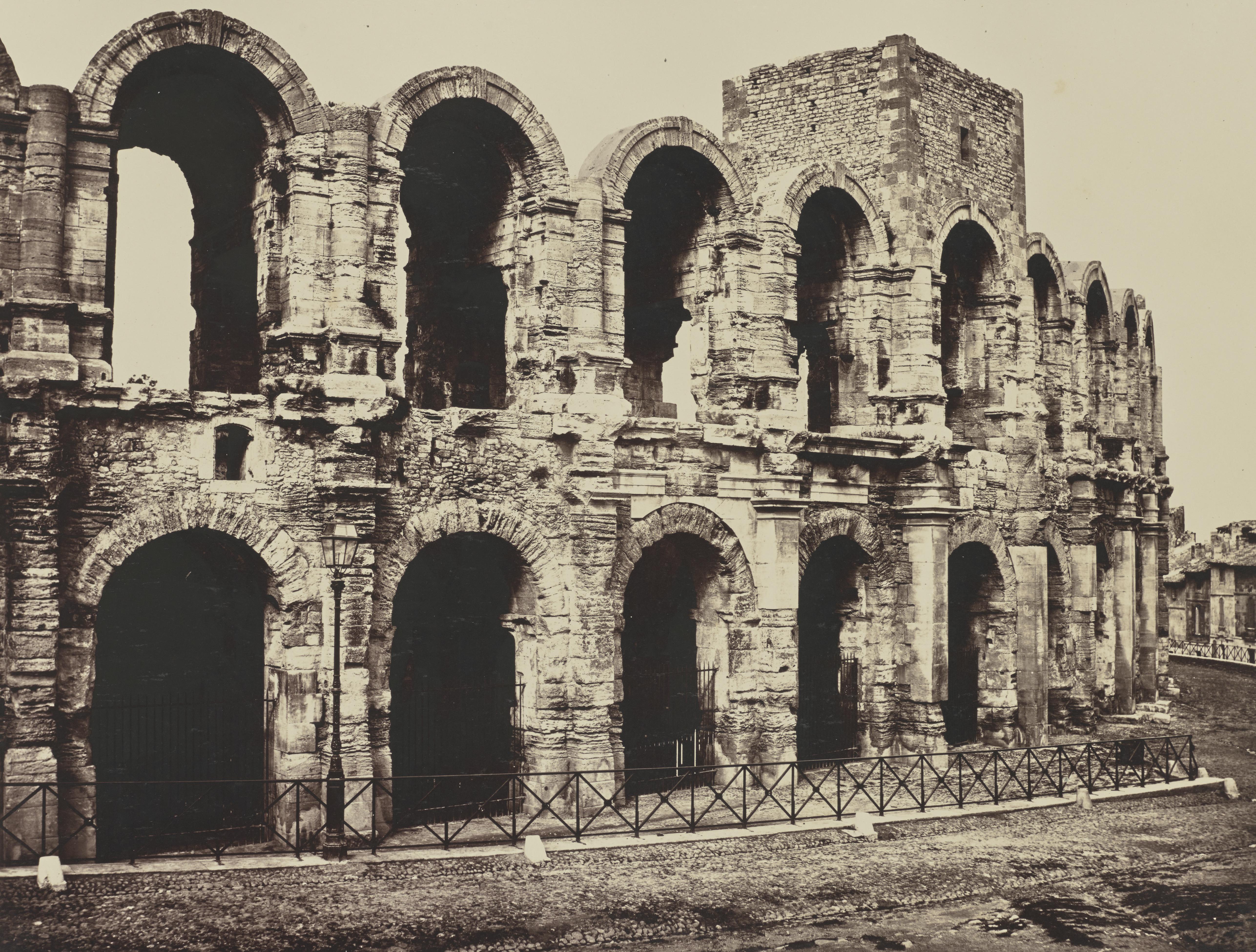 Арль. Амфитеатр.  1861