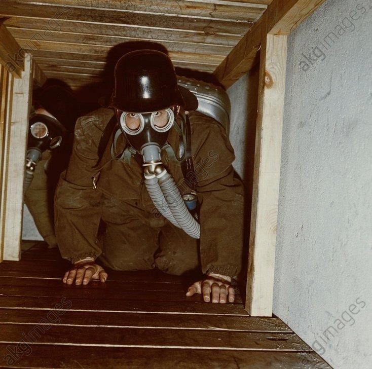 Grubenwehr GroЯzossen / Foto um 1960 - -