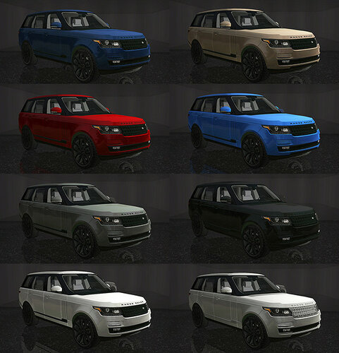 FP's 2016 Land Rover Range Rover  by Gingers-sims