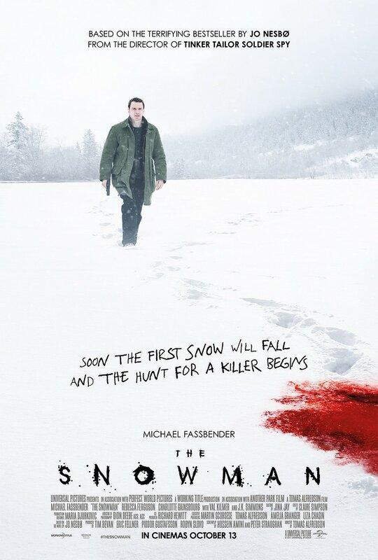 """The Snowman"" (2017) Tomas Alfredson"