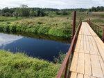 Мосток через р.Комёлу