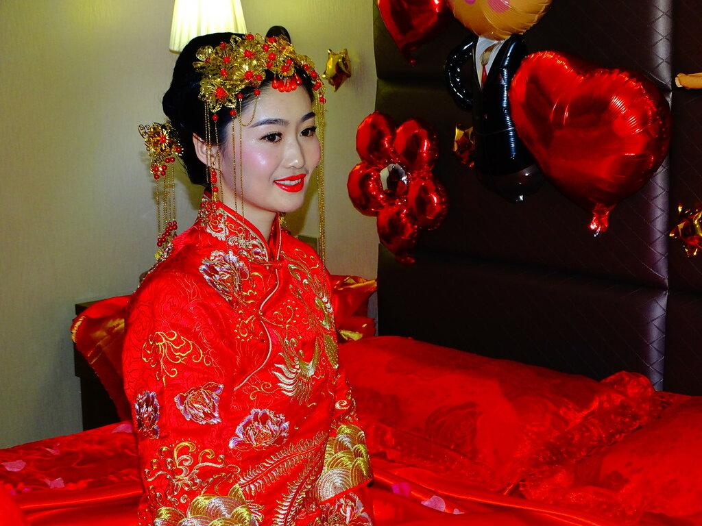 Китайская невеста.
