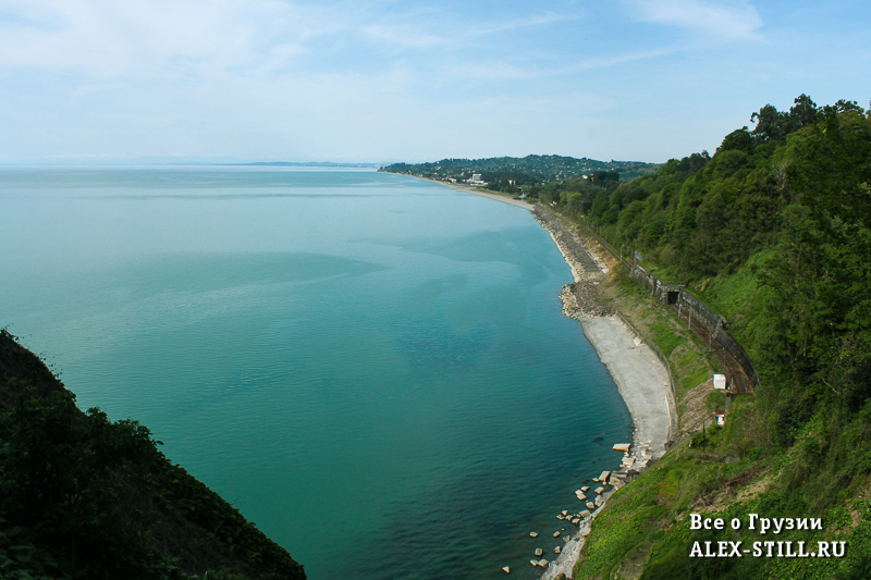 Море в Грузии