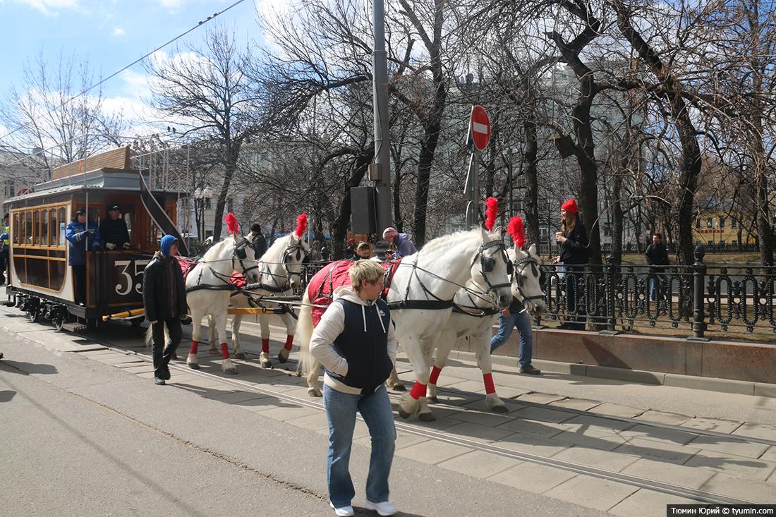 Журналист и путешественник Юрий Тюмин поделился с экологами репортажем о параде трамваев в Москве  - фото 3