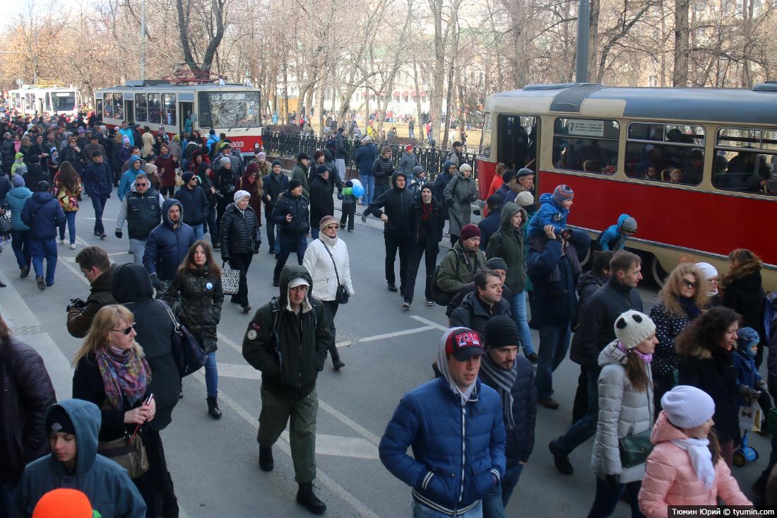 Журналист и путешественник Юрий Тюмин поделился с экологами репортажем о параде трамваев в Москве  - фото 28