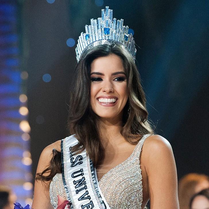 Паулина Вега, Колумбия. «Мисс Вселенная — 2014». 22 года, рост 178 см, параметры фигуры 95?70?95