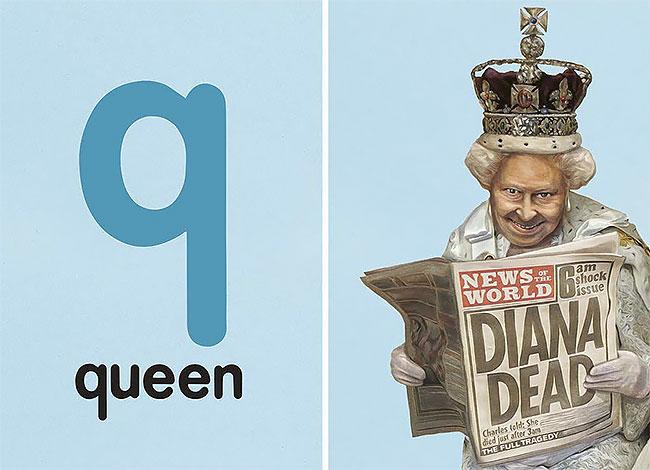 Q — queen (королева).