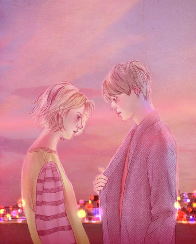 © Hyocheon Jeong   Это желание раствориться друг вдруге