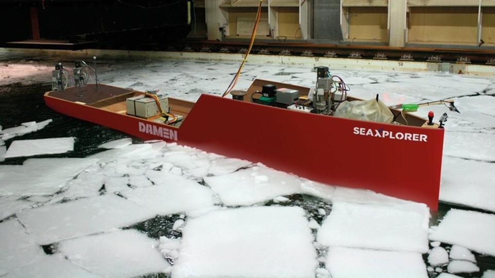 3. Макет яхты. Ярким свидетельством этого служит яхта SeaXplorer, созданная в этом году в качестве к