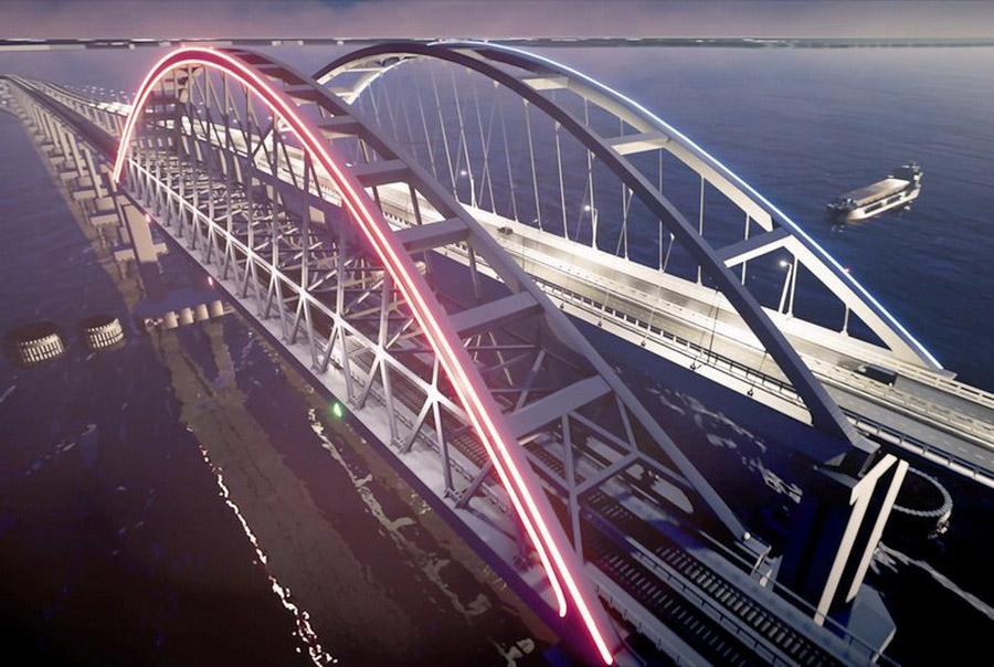 12. Крымский мост — должен стать одним из крупнейших мостов в России . Его протяженность — 19 к