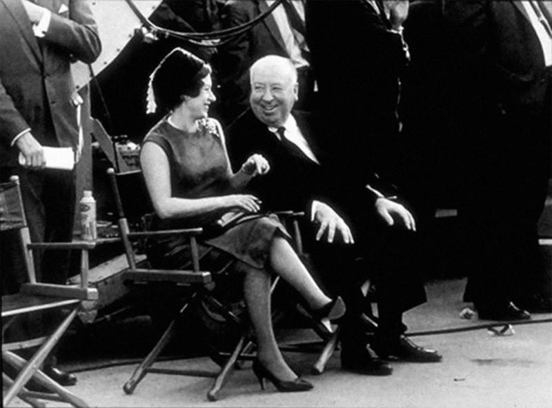 22. С принцессой Маргарет на площадке фильма «Разорванный занавес», 1966 год.