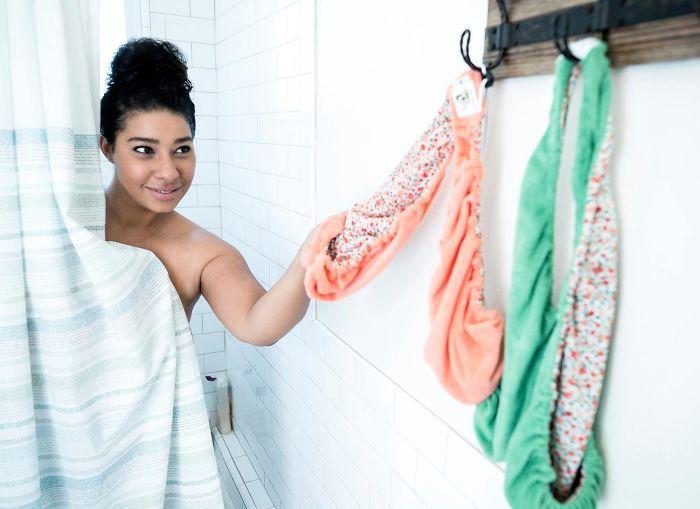 «По-по-полотенце» — новый лучший друг женщин (6 фото)