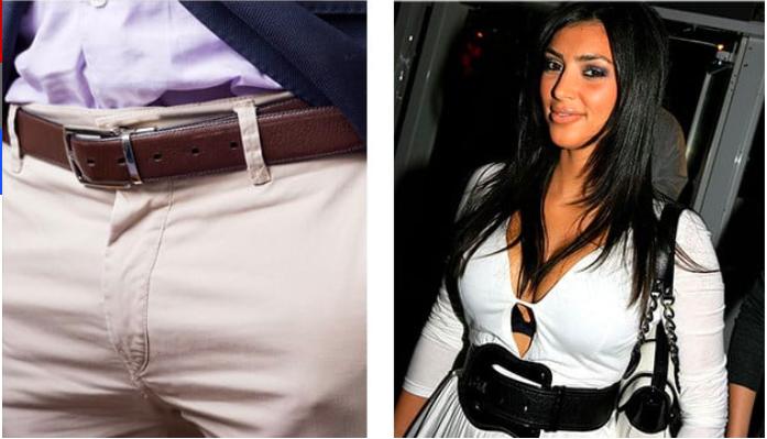 Ремень Сейчас: аксессуар, который удерживает штаны на положенном им месте. Тогда: просто огромный ак