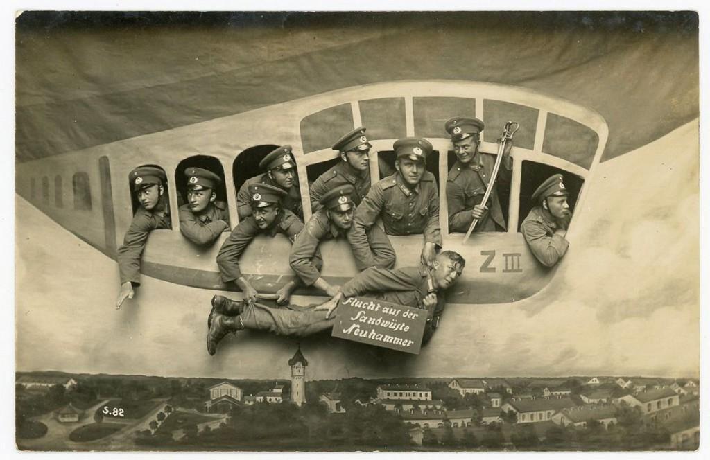 1910-1912 гг. «Перелет из лагеря Нойхаммер». Нойхаммер, Германия.