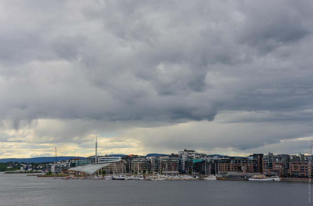 Продолжение прогулки по Осло