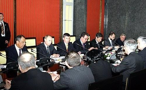 07-Российско-венгерские переговоры в расширенном составе
