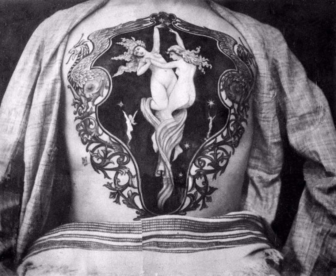 History of Tattoos - The tattoos of the first British artist in 1889