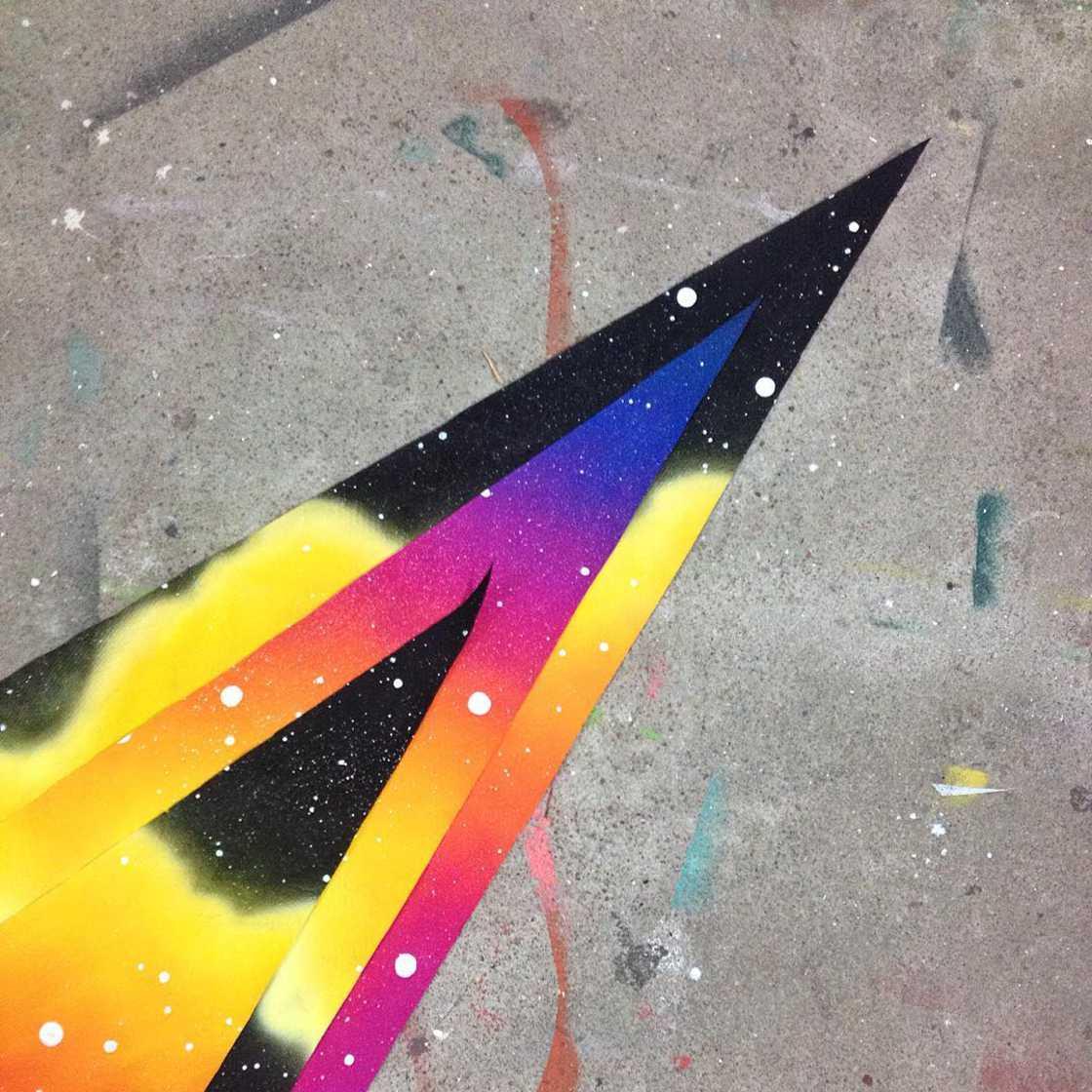 The cosmic street art of Mariana