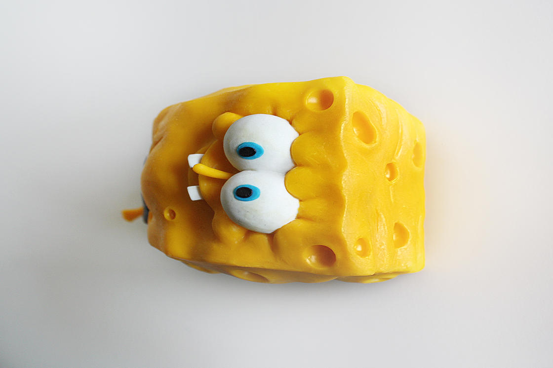 These homemade SpongeBob figurines are simply awesome!