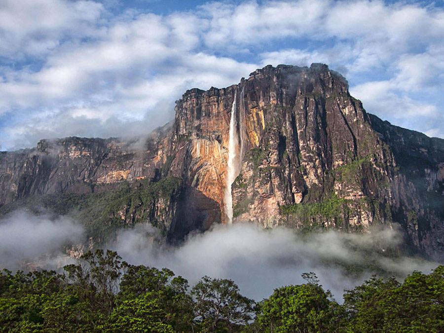 Up – Angel Falls, Venezuela.