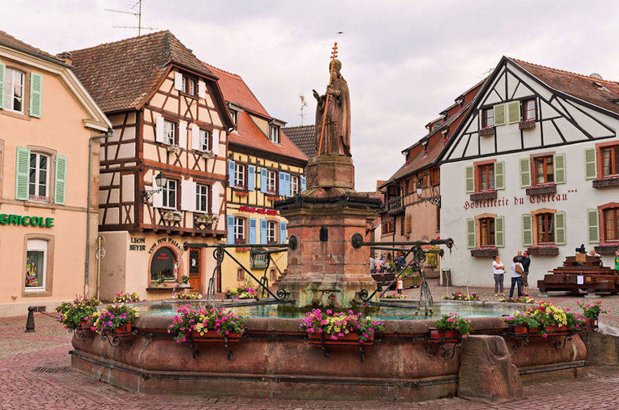 Beauty and the Beast – Alsace, France.