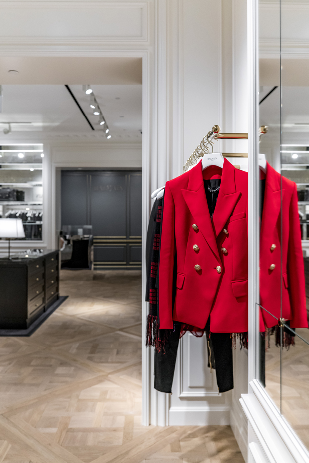 French luxury fashion and couture house, Balmain opened first standalone store in Southeast Asia, si