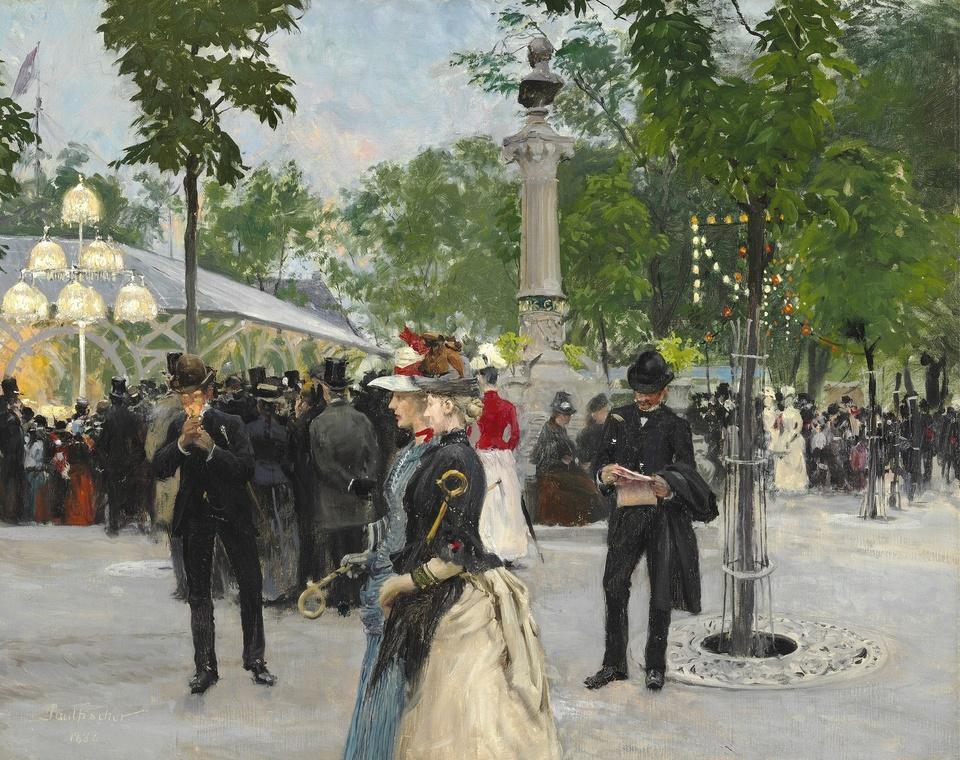 Поль Фишер(Paul-Gustave Fischer,1860-1934)-датский живописец,пейзажист и жанрист.Часть 4.
