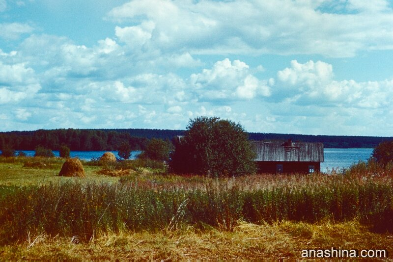 Старая деревня, Онежское озеро
