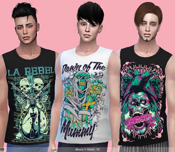 Tatius. Mens T-Shirt-10