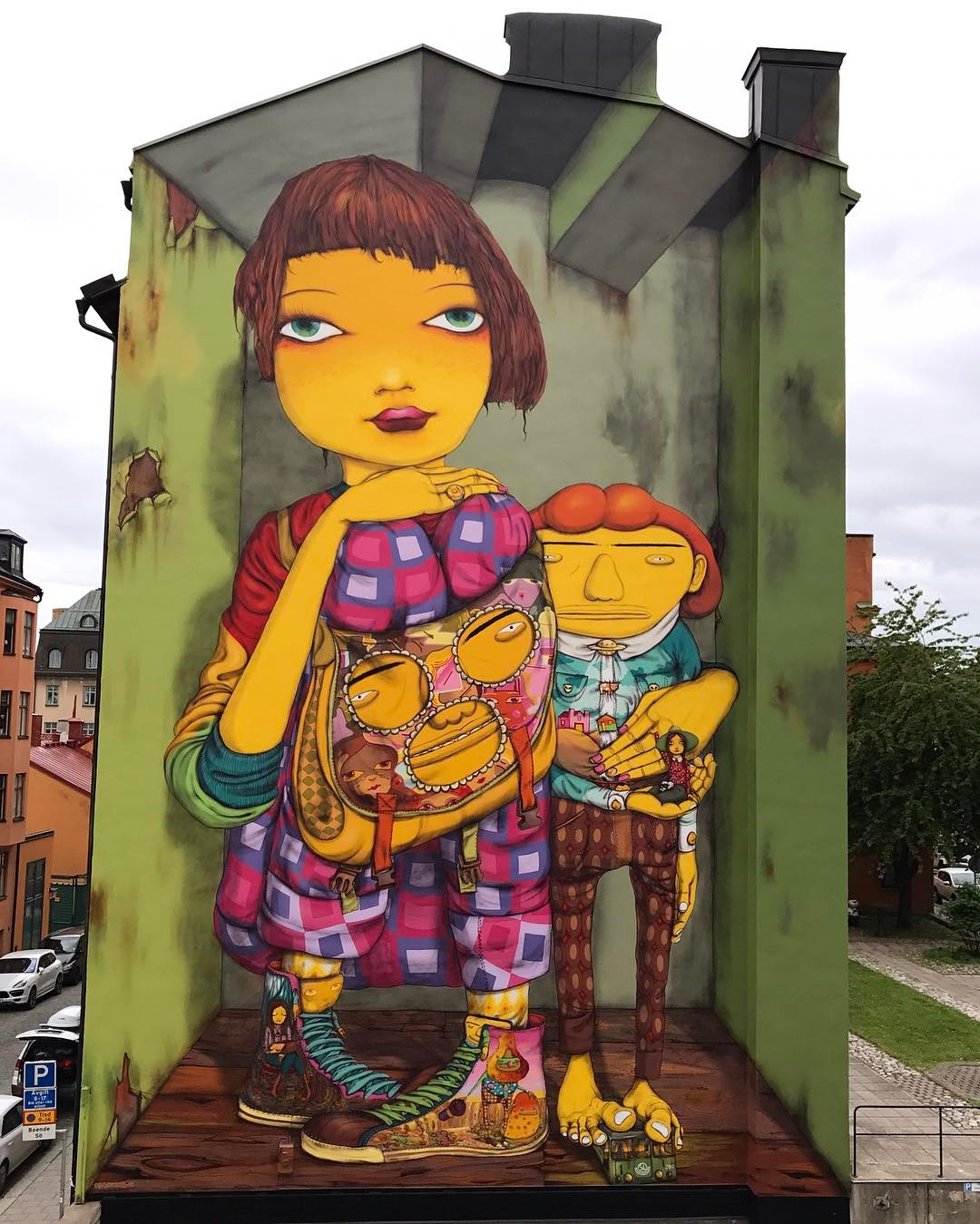 Streets: Os Gemeos (Stockholm) (8 pics)