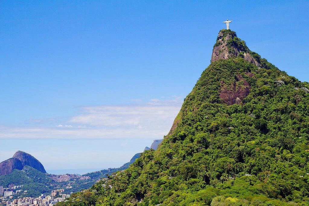Рио де Жанейро. Статуя Исуса Христа .
