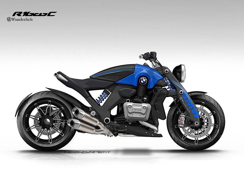 Компания BMW Motorrad может выпустить концепт Wunderlich R1600C