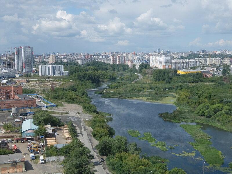 Челябинск - Вид на реку Миасс