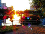 Солнцевский пруд, закат