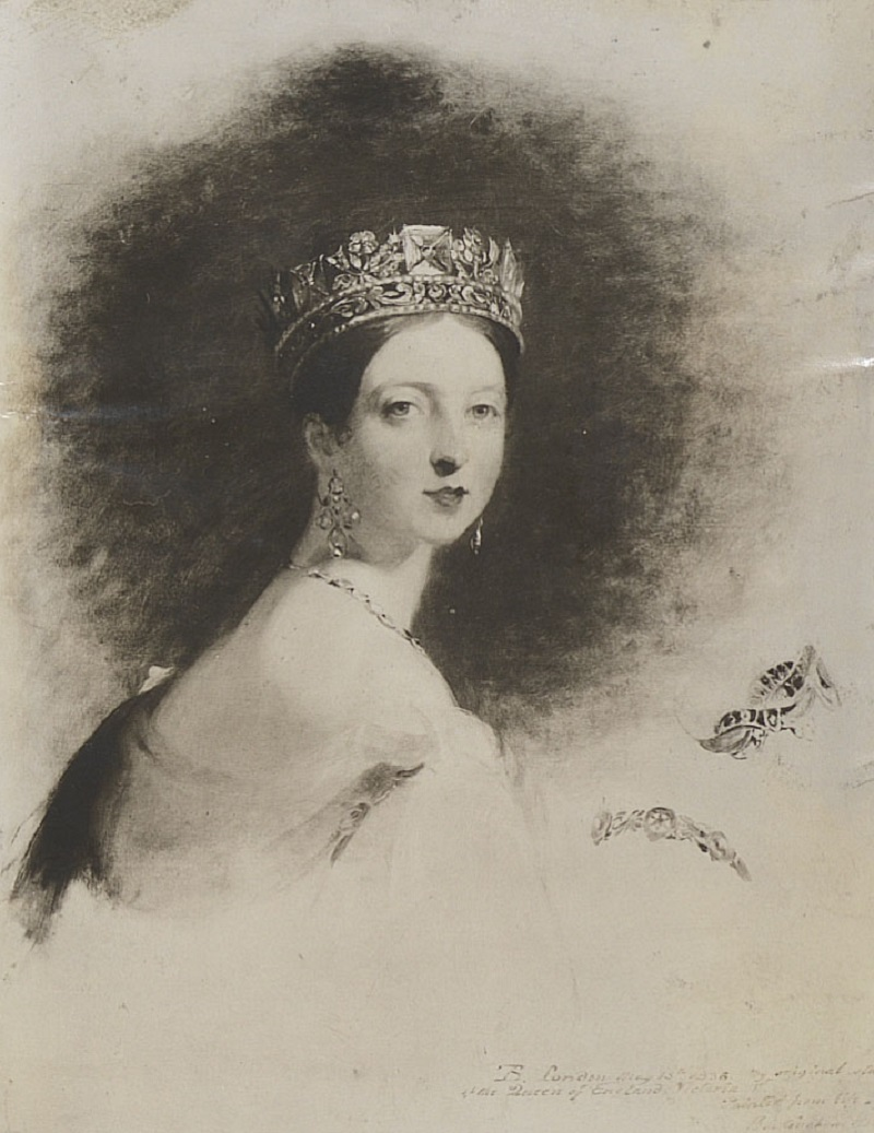 Photograph of an Original Study of Queen Victoria.jpg