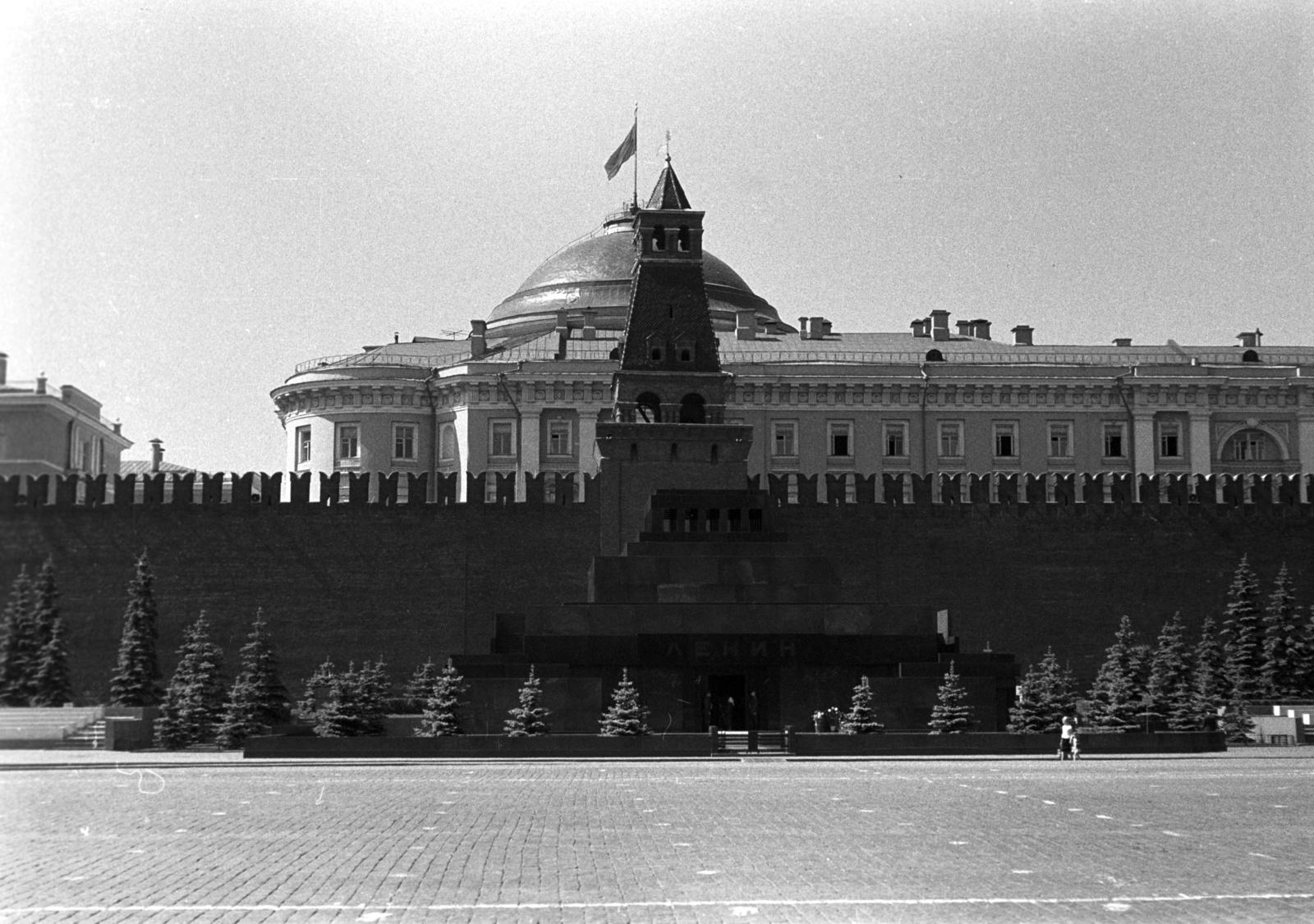 Мавзолей Ленина на Красной полощади