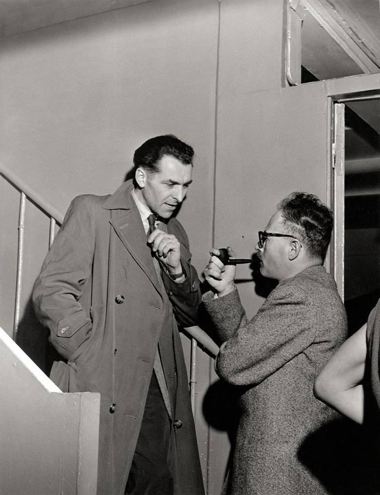 1951. Робер Дуано и Вилли Рони, студия на улице Кометы. Париж