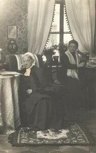 Интерьер дома Наставиных. 1913-1915