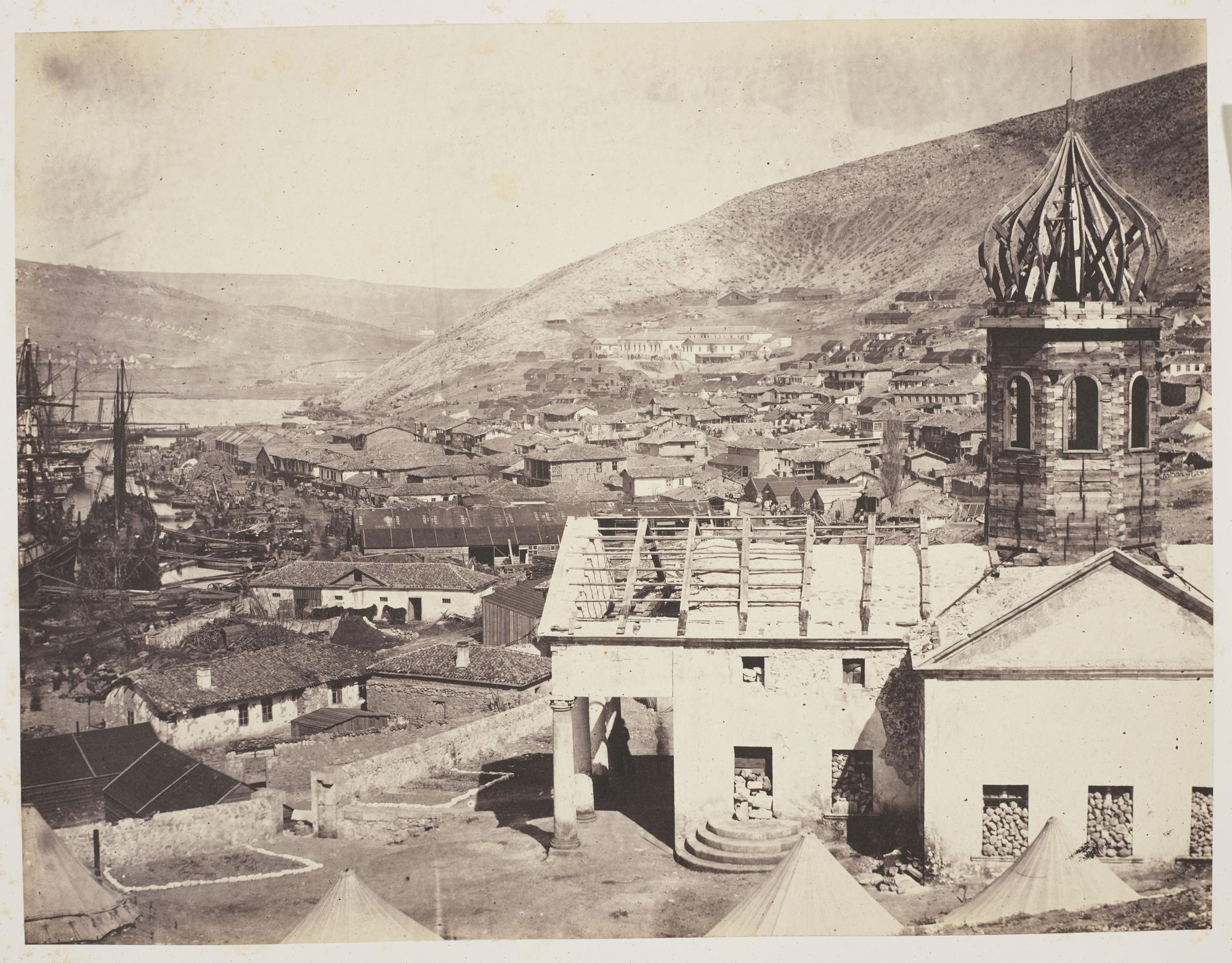 Церковь св. Николая в Балаклаве. 1855