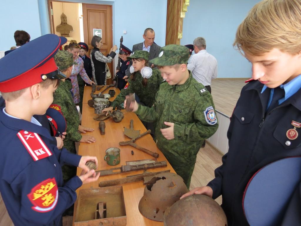 Урок мужества в Казачьей школе
