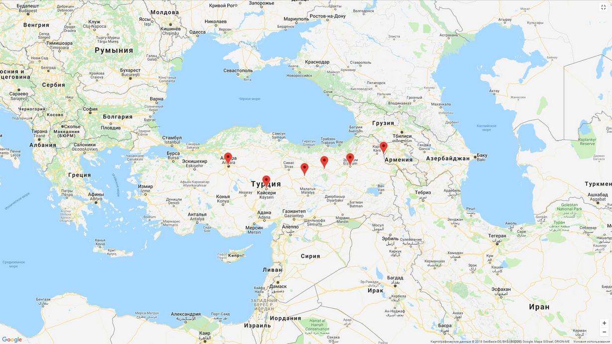 Турецкий «Восточный экспресс»