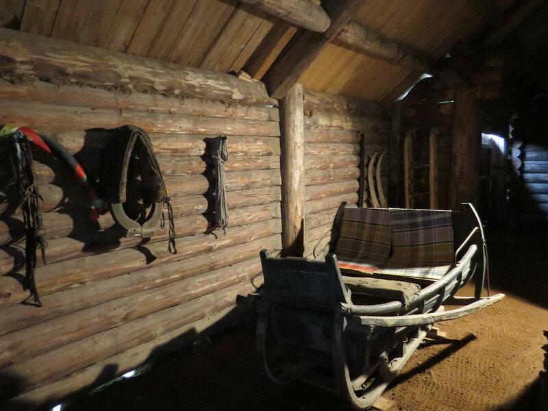 Деревянные сани. Витославлицы в Великом Новгороде