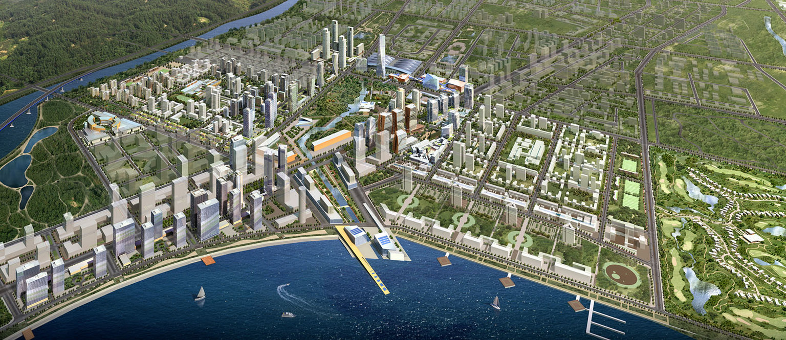 город город-призрак города жилье Сеул строительство экология Южная Корея