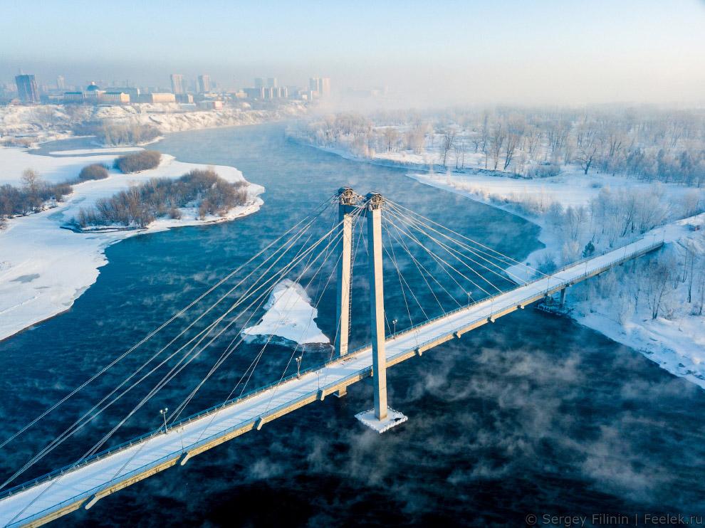 HD высота города Красноярск