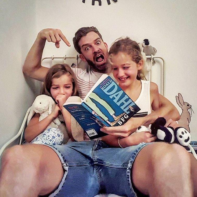интересные инстаграмы многодетная семья многодетный отец Саймон Хупер
