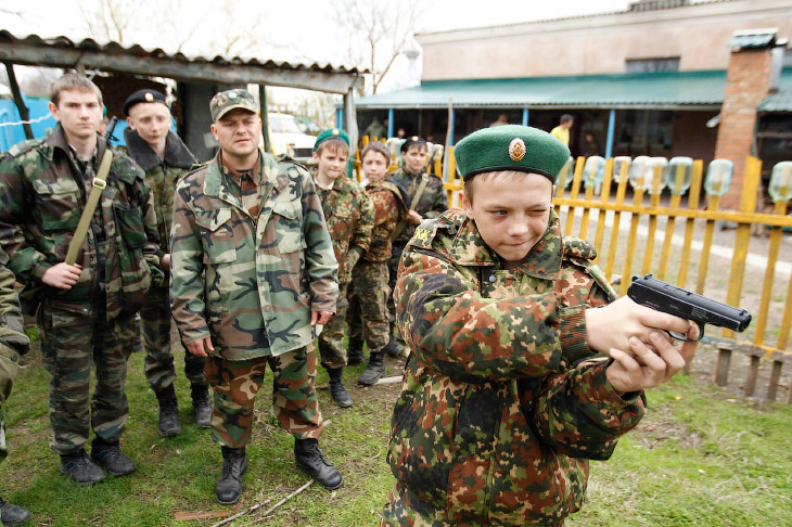 Кадетская школа в Ставрополе (21 фото)