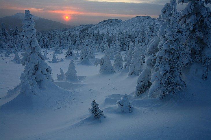 Зима в Национальном парке Таганай (23 фото)