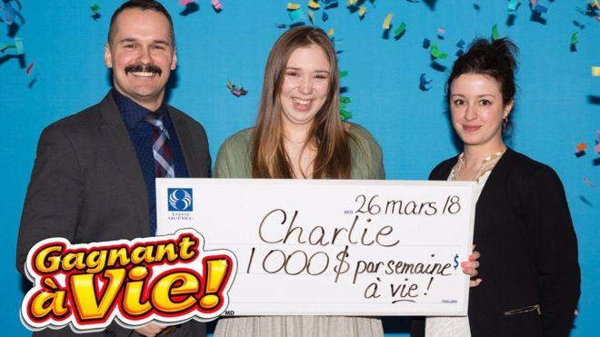 выигрыш деньги Канада лотерея