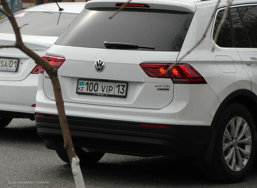 Вип-номера на машинах в Шымкенте