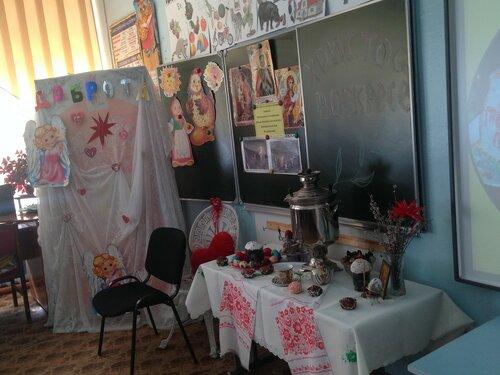 10 апреля в МОУ Первомайской СОШ №2 состоялся пасхальный праздник «Весь мир полюбим горячей»